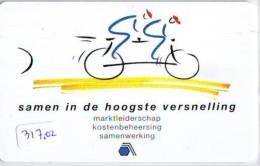 NEDERLAND CHIP TELEFOONKAART CRE 317a So * ASPA * FIETSEN  *  Telecarte A PUCE PAYS-BAS * ONGEBRUIKT MINT - Netherlands