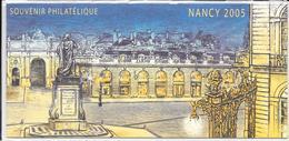 Bloc Souvenir Philatélique   NANCY 2005 - Blocs Souvenir