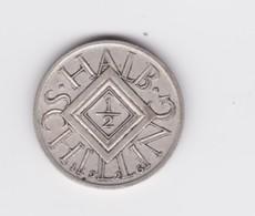1/2 Shilling Autriche 1926 Argent TTB - Autriche