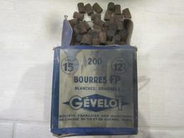 Boite Rechargement Bourre Pour Douille De Chasse Cal:12mm - Armi Da Collezione
