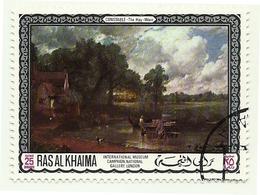 1968 - Ras Al Khaima 45 Quadri - Arte