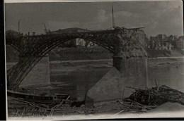 !  Foto, Photo 2.Weltkrieg Gesprengte Brücke über Die Düna In Witebsk, Wizebsk, Weißrußland, Bridge, Pont - 1939-45