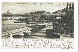 CPA - Carte Postale - Suisse - Genève - Pont Du Mont Blanc 1903-  S612 - GE Geneva