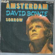 """45 Tours SP - DAVID BOWIE    - RCA 41137  """" AMSTERDAM """" + 1 - Autres - Musique Anglaise"""