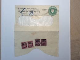 Norway 1929 Postage Due On GB Private Postal Stationery (lösenmarken Cover Brief Norwegen Lettre Taxe - Norwegen