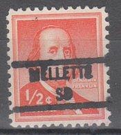USA Precancel Vorausentwertung Preo, Locals South Dakota, Melette 841 - Vereinigte Staaten