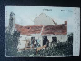 WENDUYNE : MAISON DE PËCHEUR En 1900 - Wenduine