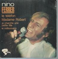 "45 Tours EP - NINO FERRER - RIVIERA 231257 - "" LE TELEFON "" + 3 - Vinyles"