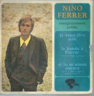 """45 Tours EP - NINO FERRER - RIVIERA 231226 - """" JE VEUX ETRE NOIR """" + 3 - Vinyles"""