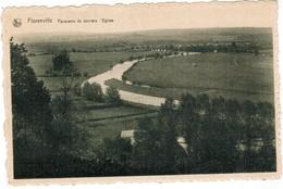 Florenville, Panorama De Derrière L'Eglise (pk48401) - Florenville