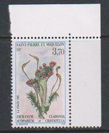 St. Pierre Et Miquelon 1995 Broom Moss 1v (corner) ** Mnh (39222B) - St.Pierre & Miquelon