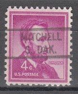 USA Precancel Vorausentwertung Preo, Locals South Dakota, Mitchell 821 - Vereinigte Staaten