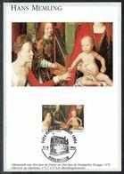 COB N° 2570 Sur 1 Carte-max - Peinture De Hans MEMLING. - Cartes-maximum (CM)