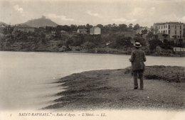 CPA SAINT RAPHAEL - RADE D'AGAY - L'HOTEL - Saint-Raphaël