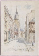 CPM - PEINTRE De BRETAGNE - Pierre GUEGAN - DINAN - Aquarelle - Edition E.P.I - Bretagne