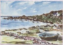 CPM - ILLUSTRATION SUAIN J - Aquarelle - COTE PITTORESQUE - Edition Colorima - Bretagne