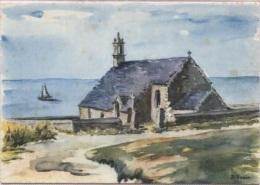 CPM - ILLUSTRATION SUAIN J - Aquarelle - PTE Du VAN CHAPELLE De ST THEY - Edition Colorima - Bretagne