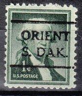 USA Precancel Vorausentwertung Preo, Locals South Dakota, Orient 716 - Vereinigte Staaten