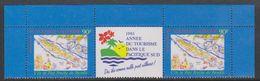 Nouvelle-Caledonie 1995 Annee Du Tourisme Dans Le Pacifique Sud Strip 2v+label ** Mnh (39222D) - Nieuw-Caledonië