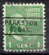 USA Precancel Vorausentwertung Preo, Locals South Dakota, Parkston 729 - Vereinigte Staaten