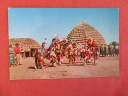 Indian DancesWichita Indian Village Of Indian City     Ref 2999 - Native Americans
