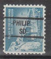 USA Precancel Vorausentwertung Preo, Locals South Dakota, Philip 841 - Vereinigte Staaten