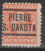 USA Precancel Vorausentwertung Preo, Locals South Dakota, Pierre 204, Perf. 11x11 - Vereinigte Staaten