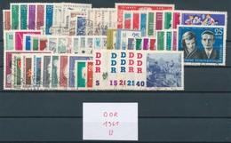 DDR Jahrgang 1961 Gestempelt Kpl. Mi. 60,- - DDR