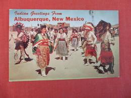 Indian Greetings Albuquerque NM      Ref 2999 - Native Americans