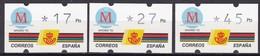 1992, Spanien, ATM 6,  Madrid - Kulturhauptstadt Europas 1992. MNH ** - 1991-00 Ungebraucht