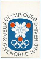 RC 9460 Xeme JEUX OLYMPIQUES D' HIVER GRENOBLE 1968 EMBLEME DES JO DESSINÉ PAR EXCOFFON NEUVE TB - Winter 1968: Grenoble