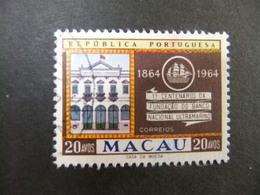 Macao Macau 1964 Siège De La Banque Yvert 399 FU - Used Stamps