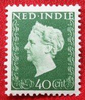 Koningin Wilhelmina 40 Ct NVPH 340 1948 Ongebruikt / MH NEDERLAND INDIE / DUTCH INDIES - Indes Néerlandaises