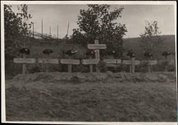 !  Foto, Photo 2.Weltkrieg Militaria Ostfront, Soldatenfriedhof Bei Minsk, Weißrußland - Cimetières Militaires