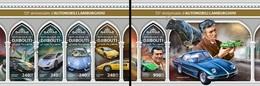 Djibouti 2018, Cars, Lamborghini, 4vai In BF +BF - Djibouti (1977-...)