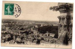 Tarjeta Postal De Nevers. Vue Panoramique Prise De La Cathedrale. Circulada - Nevers