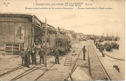 Zeebrugge - Hangars Boches Bombardes Par Les Britanniques - Zeebrugge