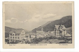 20043 - Conters I.O. Hotel Post Villa Bellavista (petit Pli) - GR Grisons