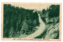 Tarjeta Postal De Arrive Au Col De La Faucille. Cote De Gex. - Sin Clasificación
