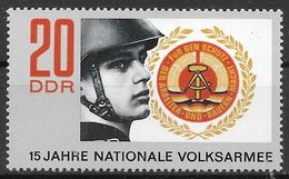 DDR 1971 / MiNr.   1652   ** / MNH   (f640) - DDR