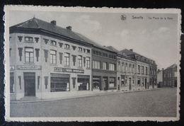 Seneffe, Place De La Gare, Publicité Bières Duvieusart Nivelles - Seneffe