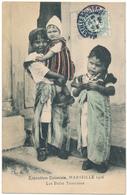 TUNISIE - Les Petits Tunisiens à L'Exposition Coloniale De Marseille, 1906 - Tunisie