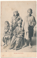 TUNISIE - Enfants Khroumirs - Cliché D. Pavia - Tunisie