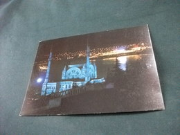 MOSCHEA MOSQUEE MOSQUE  DOLBAMAHCE ISTANBUL BOSPHORUS TURCHIA NOTTURNO NAVE SHIP - Islam