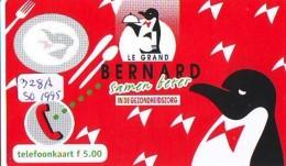 NEDERLAND CHIP TELEFOONKAART CRE 328a  1995 * BERNARD * PINGUIN *  Telecarte A PUCE PAYS-BAS * ONGEBRUIKT MINT - Netherlands
