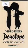NEDERLAND CHIP TELEFOONKAART CRE 334 * PENELOPE * FEMME  *  Telecarte A PUCE PAYS-BAS * ONGEBRUIKT MINT - Netherlands