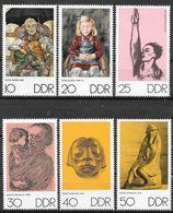 DDR 1970 / MiNr.   1607 – 1612   ** / MNH   (f660) - DDR