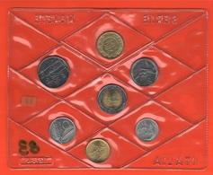 Italia 5 10 20 50 100 200 500 Lire 1983 Serie Privata FDC - Mint Sets & Proof Sets