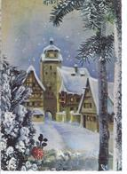 Weihnachts- Neujahrskarte - Kleinstadt Im Winter  **V-3-295 - Christmas