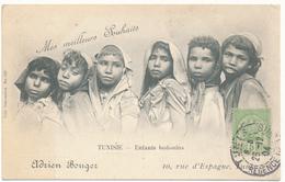 TUNISIE - Enfants Bédouins, Adrien Bouger - Coll. Deconcloit - Tunisie